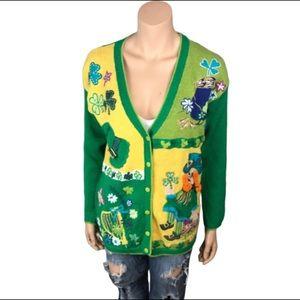 VTG St. Patrick's Day Ugly Sweater